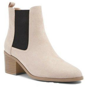 Nude Pink Chelsea Ankle Boots - super comfortable